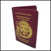 Hetalia Wallet: Germany Passport