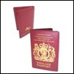 Hetalia Wallet: England Passport
