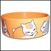 Natsume's Book of Friends PVC Wristband: Madara Pattern