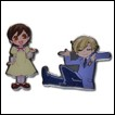 Ouran High School Host Club Pin Set: Haruhi & Tamaki