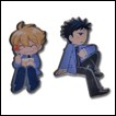 Ouran High School Host Club Pin Set: Honey & Mori