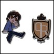 Ouran High School Host Club Pin Set: Haruhi & Logo