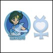 Sailor Moon Pin Set: Sailor Mercury & Symbol