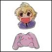 Ouran High School Host Club Pin Set: Honey & Usa-chan