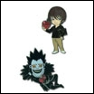 Death Note Pin Set: Light & Ryuk