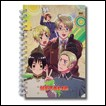 Hetalia Notebook: Hardcover