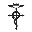 Fullmetal Alchemist: Brotherhood Temporary Tattoo: Elric Mark