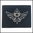 Legend of Zelda Wallet: Black Metal Badge