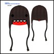 Domo-kun Fleece Cap: Big Face