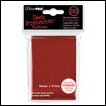Ultra Pro Deck Protector Sleeves: Red 50 CT Standard