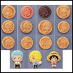 One Piece Trading Figures: Biscuit Uranai Chara Fortunes