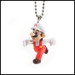 Nintendo Gashapon: New Super Mario Bros.: Wii Mascot Charms: Fire Mario
