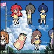 Waiting in Summer Trading Figures: Pikuroru Strap Collection