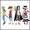 One Piece Trading Figures: Half Age Straw Hat Series