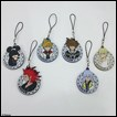 Kingdom Hearts II Trading Figures: Rubber Strap Collection