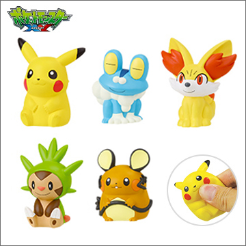 Squishy Pokemon Gashapon : Pokemon Gashapon: XY Soft Mascots