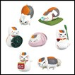 Natsume's Book of Friends Gashapon: Nyanko-Sensei Mascot Part 4