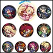 Disgaea Trading Figures: Can Badge Collection
