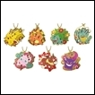 Pokemon Trading Figures: Stained Glass Keyring