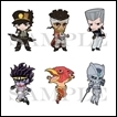 Jojo's Bizarre Adventure Trading Figures: Stardust Crusaders Rubber Strap Collection Vol.1