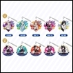 BanG Dream! Girls' Band Party Trading Figures: Acrylic Keychain: Roselia