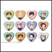 Hetalia Trading Figures: Trading Heart Can Badge