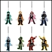 My Hero Academia Trading Figures: Visual Color Acrylic Strap