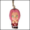 Naruto Figure Keychain: 3D Super Deformed Sakura