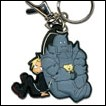 Fullmetal Alchemist: Brotherhood Keychain: Ed, Al & Kitty