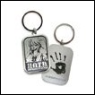High School of the Dead Metal Keychain: Saya