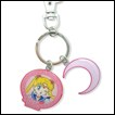 Sailor Moon Metal Keychain: Sailor Moon & Metal Symbol