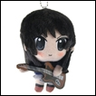 K-ON! Plush: Mio Akiyama Mini Band Version