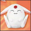 Magic Knights Rayearth Plush: Mokona (Sitting Version)