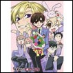 Ouran High School Host Club Wall Scroll: Sitting Haruhi