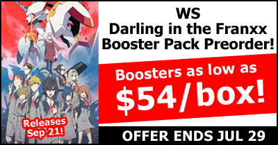 WeiB Schwarz Darling in the Franxx Pre-Order Special
