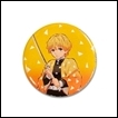 Demon Slayer Button: Zenitsu Agatsuma
