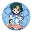 Sailor Moon Button: Mercury
