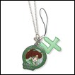 Sailor Moon Cell Phone Strap: Sailor Jupiter & Symbol