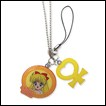 Sailor Moon Cell Phone Strap: Sailor Venus & Symbol