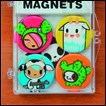 Tokidoki Magnets: Cactus & Friends 4-Pack