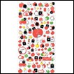 Monokuro Boo Stickers: Apples & Pears (Set 1)