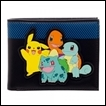 Pokemon Wallet: Group Rubber Patch  (Bi-fold)
