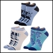 Yuri on Ice Socks: 3-Pack Ankle