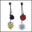 RWBY Earring: Icon Front/Back
