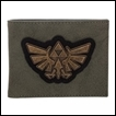 Legend of Zelda Wallet: Distressed Triforce Bi-Fold