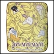 Bananya Throw Blanket