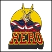 My Hero Academia Pin: All Might Large Lapel
