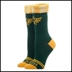Legend of Zelda Socks: Sequin Cuff Jrs Crew