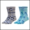 Yuri on Ice Socks: 2-Pack Crew