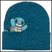 Pokemon Beanie: Squirtle Embroidered Peak-a-Boo